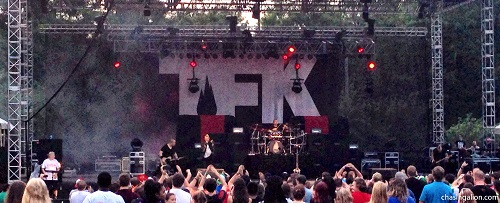 Thousand Foot Krutch (TFK) takes the stage at AtlantaFest 2014