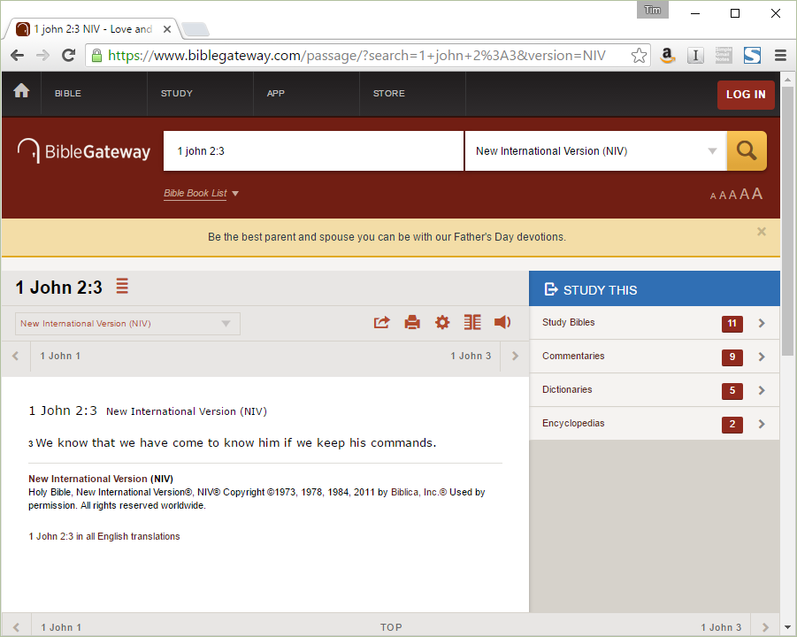 How to Add BibleGateway com Search to Google Chrome