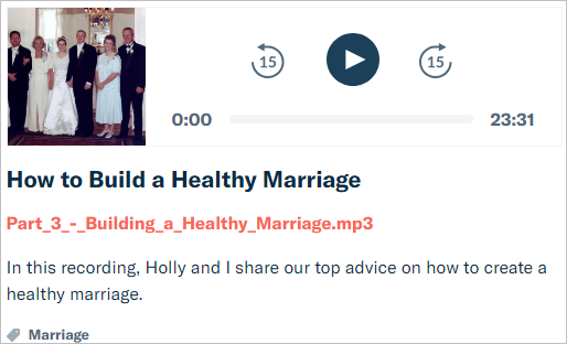 how to have a healthy marriage marriage