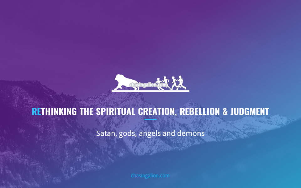 Video thumbnail: Rethinking the Spiritual Creation, Rebellion and Judgment